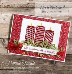 Simply Stamping with Narelle: Heat Embossing Stampin Up Christmas, Christmas Greetings, Handmade Christmas, Christmas Crafts, Christmas 2019, Easter Table, Easter Party, Easter Gift, Easter Eggs