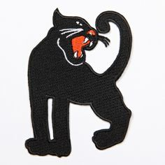 PANTHER EMBROIDERY PATCH