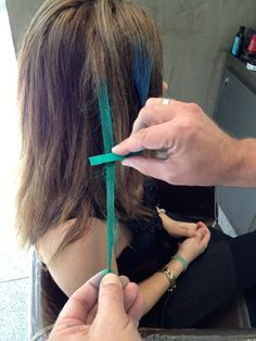 How To... Get Into The Latest Hair Color Craze!  Hair chalking is an easy, quick and inexpensive way to add temporary color to your hair. You can do it yourself without making a big commitment.