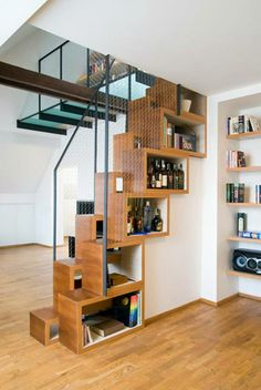 space saving stairs!