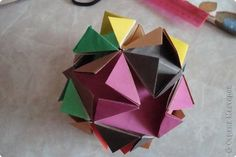 Kusudama Workshop Origami Kusudama Classic Photo Paper 1