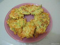 Frittelle di verdure. Scopri la ricetta: http://www.misya.info/2009/09/04/frittelle-di-verdure.htm