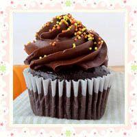 Dark Chocolate Cupcakes  s