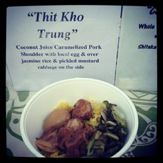Popular pop up Vietnamese street food - The Pig & The Lady at Honolulu Farmers Market