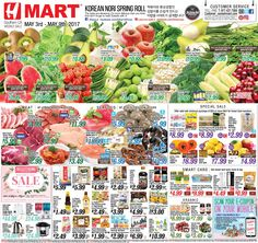 H Mart Weekly Ad May 3 - 9, 2017 - http://www.olcatalog.com/h-mart/h-mart-weekly-ad.html