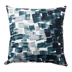 IKEA STOCKHOLM 2017 Cushion Check pattern/blue cm The zipper makes the cover easy to remove. Living Room 2017, Affordable Furniture, Cushions, Ikea Living Room, Ikea, Cushions Ikea, Ikea Furniture, Cushion Covers, Ikea Stockholm