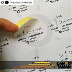 @lamputamandesign naklejka wizytówka z danymi kontaktowymi #sticker