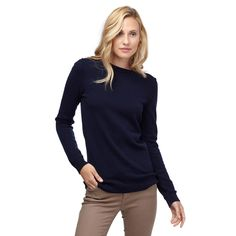 Wool Cashmere Crewneck Sweater | Cuyana