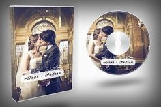 Check out Elegant Wedding DVD Cover by Kahuna Design on Creative Market