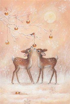 Милые новогодние иллюстрации : фото #3