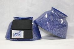 DAVIS Small Metallic Blue Bell Boots by Davis. $19.95. Double Locking Hook & Loop Closures. Outstanding Overreach Protection. Mix & Match Capabilities With Other DAVIS Gear. Rip & Tear Resisting Heavy Duty PVC. Known for their wide variety of colors and sizes, DAVIS Bell Boots offer trendy styles, while giving horses of every size and breed outstanding overreach protection.. Save 35% Off!