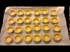 DIY Homemade Baked Lava Cheese Tart | d for delicious - YouTube