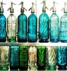 love these glass jars wish we could find vases like this