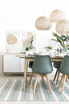 Home Room Design, Living Room Designs, Living Room Decor, Minimalist Dining Room, Minimalist House Design, Home Decor Kitchen, Diy Home Decor, Flat Interior Design, Rectangular Living Rooms