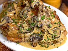 Slow Cooker Pork Chop Stroganoff | bakeatmidnite.com | #pork #stroganoff #slowcooker #crockpot