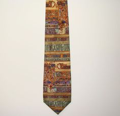 Alynn Book of Kells Ancient Ireland Mens 100% Silk Mens Neck Necktie Tie 62in #Alynn #Tie