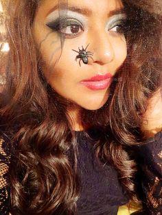 Halloween makeup look.  #motd