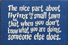 Small Town Gossip Quotes | small town humor funny sayings picture quotes gossip