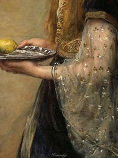 The Captive (detail), 1882 John Everett Millais