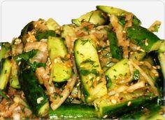 Острые огурцы по корейски Острые огурцы по корейски — это бесподобно вкусный, в меру острый салат из огурцов, рекомендую – проверенный, очень простой и доступный рецепт. Рекомендую Вам! Блюдо…