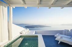Aliko Luxury Suites - Santorini, Greece Perfectly... | Luxury Accommodations