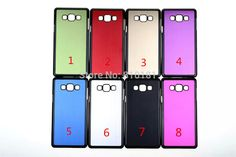 50pcs/lot Free Shipping New Metal Brushed Aluminum Hard Case Cover for Samsung Galaxy A5 A500F A5000