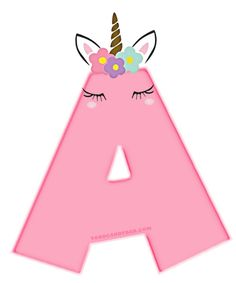 Alfabeto de Unicornios Letras para Descargar Gratis | Todo Candy Bar Colorful Birthday Party, Unicorn Themed Birthday Party, Unicorn Party, Birthday Party Themes, Happy Birthday Banner Printable, Happy Birthday Images, Happy Birthday Banners, Unicorn Printables, Unicorn Pictures