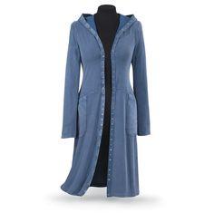 Prairie duster maxi dress