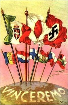 """""""We Will Win"""" - Italy, WWII : PropagandaPosters"""