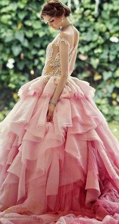 wedding dresses #princess #beauty #fashion #elegant