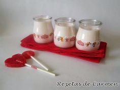 rezetas de carmen: Recopilatorio de recetas de yogur casero