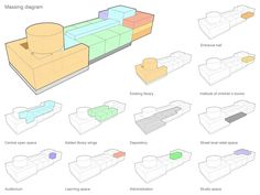Something architectural massing study remarkable