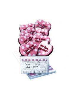 personalised hearts tin - Biscuiteers
