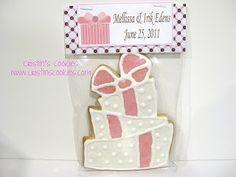 Cristin's Cookies: Wedding Cookies