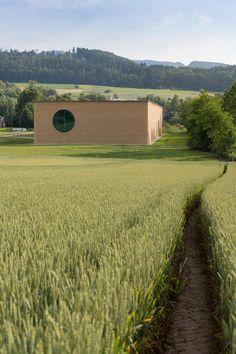 Kommentare zu: Lehmbau von Herzog/de Meuron und Martin Rauch bei Basel / Geometrisierte Landschaft - Architektur und Architekten - News / Me...