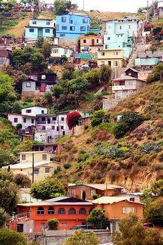 Tijuana Hillside- Real Estate With a View, Tijuana,Mexico |via Flickr - Photo Sharing!-- la real Tijuana
