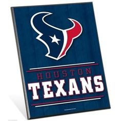 Houston Texans Easel Sign