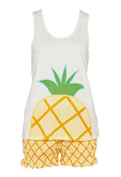 Image for Pineapple Set from Peter Alexander
