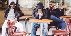 """WSTRN starten durch - Der Band-Name deutet an, wo sich der Heimat-Kiez von Akelle, Haile und Louis befindet: in West-London. Mit dem soulig-groovenden Ohrwurm """"In2"""" nimmt das Trio jetzt die Charts ins Visier. West London, Bar Stools, Band, Music, Vest, Musica, Sash, Counter Height Chairs, Ribbon"""