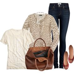 OOTD Casual Date Day, created by luv2shopmom on Polyvore