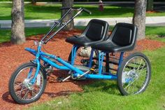 Worksman Team Dual Trike SBST-HB, our most popular Special Needs Adult Sude By Side Tricycle Pedal Cars, Special Needs, Tandem, Custom Bikes, More Fun, Transportation, Outdoor Stuff, Side View, Fun Ideas