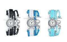 3 Set of Fahion Antique Silver Infinity Love Charm Bracelet Bangle wacth Fiiliip(Mix Color) Bangle Bracelets, Bangles, Infinity Love, Love Charms, Wrist Watches, Color Mixing, Antique Silver, Charmed, Female