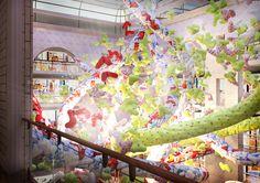 "Concept-project for ""Detsky Mir"" Central Children Store by MILODAMALO Studio , via Behance"