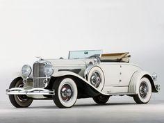 1929 Duesenberg Model J 132 Convertible Coupe