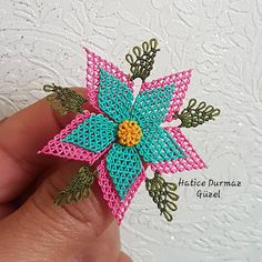 Needle lace writing models - Jewelry World Jewelry Model, Needle Lace, Crochet Earrings, Writing, Fabric, Instagram, Models, Craft, Flowers