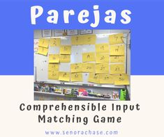 Parejas – Loading up my little darlings with Comprehensible Input Spanish Games, Ap Spanish, Spanish Activities, Learning Activities, Teaching Ideas, Spanish Alphabet, Spelling Activities, Learn Spanish, Teaching Materials