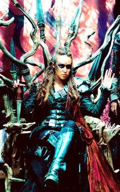 Alycia Debnam Carey as Lexa. The 100. (2015)
