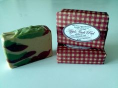Apple Jack Peel  - made with apple juice. Cabin Fever Soaps & Essentials LLC