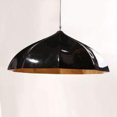 Modern FRP Black and Gold Inside Pendant Lighting - HK Phoenix Lighting