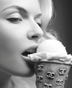 Chanel ice-cream cone? - yes, please!!